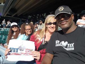 Floyd attended Colorado Rockies vs. Miami Marlins - MLB - Sunday on Jun 24th 2018 via VetTix