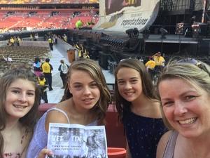 Brian and Tabatha attended Taylor Swift Reputation Stadium Tour on Jul 11th 2018 via VetTix