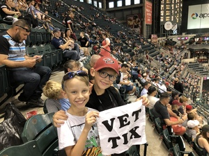Jerry attended Arizona Diamondbacks vs. Philadelphia Phillies - MLB on Aug 7th 2018 via VetTix