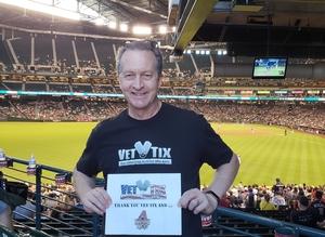 Paul attended Arizona Diamondbacks vs. Colorado Rockies - MLB on Sep 23rd 2018 via VetTix