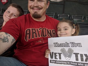 Hannah attended Arizona Diamondbacks vs. Colorado Rockies - MLB on Sep 23rd 2018 via VetTix
