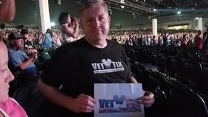 joseph attended Chicago / Reo Speedwagon on Jun 29th 2018 via VetTix