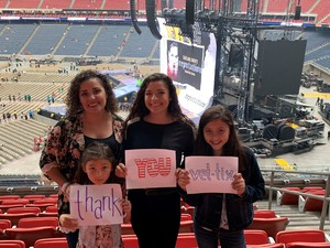 Carmen attended Taylor Swift Reputation Tour on Sep 29th 2018 via VetTix