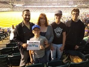 Brett attended Colorado Rockies vs. Pittsburgh Pirates - MLB on Aug 6th 2018 via VetTix