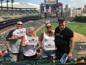 Rodney attended Detroit Tigers vs. Minnesota Twins - MLB on Aug 12th 2018 via VetTix