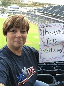 Sherry attended Kansas City Royals vs. Chicago White Sox - MLB on Sep 12th 2018 via VetTix