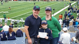 Todd attended Notre Dame Fightin' Irish vs. Vs. Ball State Cardinals - NCAA Football on Sep 8th 2018 via VetTix