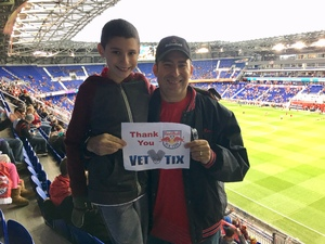 Marc attended New York Red Bulls vs. Orlando City SC - MLS on Oct 28th 2018 via VetTix