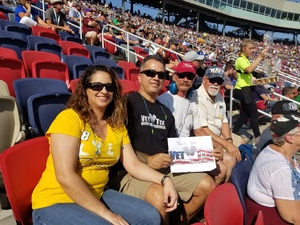 chris attended Can-am 500 - Ism Raceway on Nov 11th 2018 via VetTix