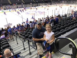 Sergio attended New York Islanders vs. Philadelphia Flyers - NHL on Sep 16th 2018 via VetTix