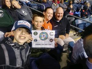 Michael attended Army vs. Navy Cup Vli - Collegiate Soccer on Oct 12th 2018 via VetTix
