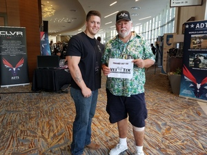WILLIAM attended Clever Talks: Made in America Vet Tix Exclusive on Oct 11th 2018 via VetTix