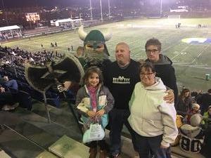 andrew attended Portland State University Vikings vs. Idaho State - NCAA Fooball on Nov 3rd 2018 via VetTix