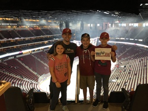 Paul attended Arizona Coyotes vs. Buffalo Sabres - NHL on Oct 13th 2018 via VetTix