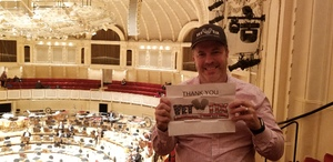 Eric attended Trifonov Plays Prokofiev - Presented by the Chicago Symphony Orchestra on Oct 20th 2018 via VetTix