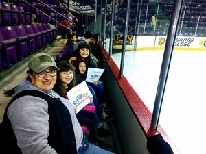Laura attended Colorado College Tigers vs. Miami - NCAA Hockey on Nov 17th 2018 via VetTix