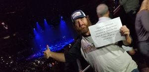 Jason attended Eagles - Live on Oct 14th 2018 via VetTix