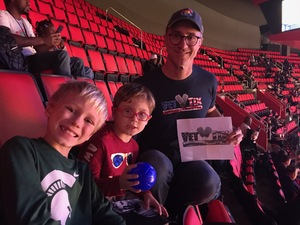 Brian attended Detroit Pistons vs. Phoenix Suns - NBA on Nov 25th 2018 via VetTix