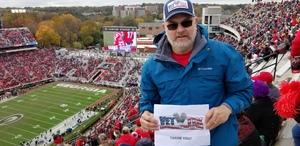 Richard attended University of Georgia vs. Georgia Tech - NCAA Football on Nov 24th 2018 via VetTix