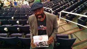 Vernon attended Phoenix Suns vs. Boston Celtics - NBA on Nov 8th 2018 via VetTix