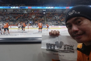 Raul attended San Jose Barracuda vs. San Diego Gulls - AHL on Feb 18th 2019 via VetTix