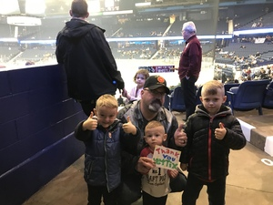 David attended Chicago Wolves vs. Tucson Roadrunners - AHL - Special Instructions * See Notes on Dec 16th 2018 via VetTix