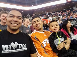 Armando attended Phoenix Suns vs. San Antonio Spurs - NBA on Nov 14th 2018 via VetTix