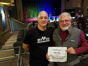 Patrick attended Macdougal Street West - a Peter Paul and Mary Experience on Nov 29th 2018 via VetTix