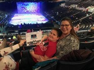 Michelle attended Disney on Ice Presents Worlds of Enchantment on Jan 17th 2019 via VetTix