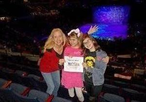 K. attended Disney on Ice Presents Worlds of Enchantment on Jan 17th 2019 via VetTix