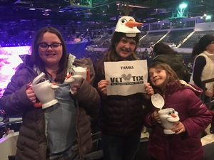 Robert attended Disney on Ice Presents Worlds of Enchantment on Jan 17th 2019 via VetTix