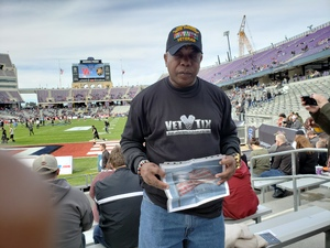 Delane attended Lockhead Martin Armed Forces Bowl - NCAA Football on Dec 22nd 2018 via VetTix
