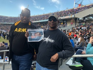 Donald attended Lockhead Martin Armed Forces Bowl - NCAA Football on Dec 22nd 2018 via VetTix