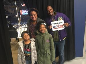 Cashenna attended Capital City Go-go vs. Long Island Nets - Nbdl on Dec 29th 2018 via VetTix