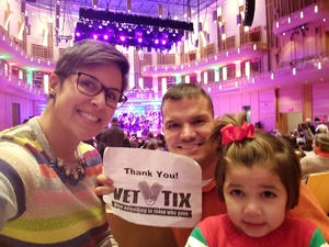 Anthony attended Holiday Pops - Presented by National Philharmonic on Dec 7th 2018 via VetTix