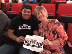 Chelle attended Chris Young: Losing Sleep World Tour 2018 - Country on Dec 1st 2018 via VetTix