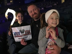 Ken attended Disney on Ice Presents Mickey's Search Party on Jan 24th 2019 via VetTix