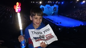 Eileen attended Disney on Ice Presents Mickey's Search Party on Jan 24th 2019 via VetTix