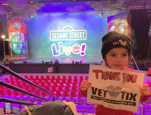 Jeremy attended Sesame Street Live! Make Your Magic on Jan 10th 2019 via VetTix