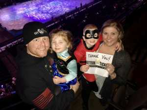PKRZE attended Disney on Ice Presents: Worlds of Enchantment on Mar 14th 2019 via VetTix
