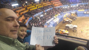 Eric E attended Monster Jam Triple Threat Series on Feb 16th 2019 via VetTix