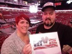 Stacey attended Ohio State Buckeyes vs. University of Michigan - NCAA Wrestling on Jan 25th 2019 via VetTix