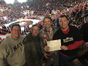 Keith attended Ohio State Buckeyes vs. Penn State Nittany Lions - NCAA Wrestling on Feb 8th 2019 via VetTix