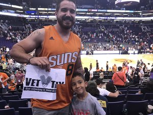 Gary attended Phoenix Suns vs. Dallas Mavericks - NBA on Dec 13th 2018 via VetTix