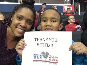 Michelle attended Harlem Globetrotters on Dec 26th 2018 via VetTix