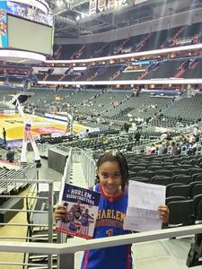 Christian attended Harlem Globetrotters on Dec 26th 2018 via VetTix