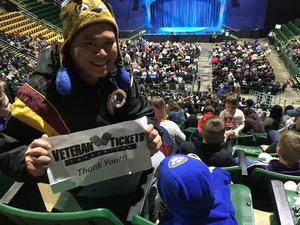 Ian attended Paw Patrol Live: Race to the Rescue - Children's Theatre on Feb 2nd 2019 via VetTix