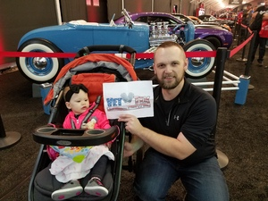 Steven attended 2019 Barrett Jackson - 1 Ticket is Good for 2 People - Family Value Day (kids 12 and Under Are Free) on Jan 12th 2019 via VetTix