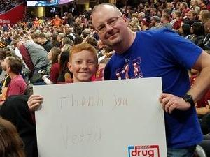 James attended Cleveland Cavaliers vs. New Orleans Pelicans - NBA on Jan 5th 2019 via VetTix