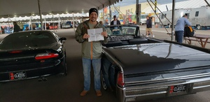 Paul attended 2019 Barrett Jackson - Collector Car Auction - 1 Ticket is Good for 2 People on Jan 14th 2019 via VetTix